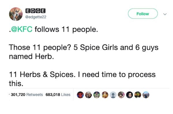 KFC Herb & spices
